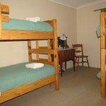The second bedroom with 2 sets of bunks